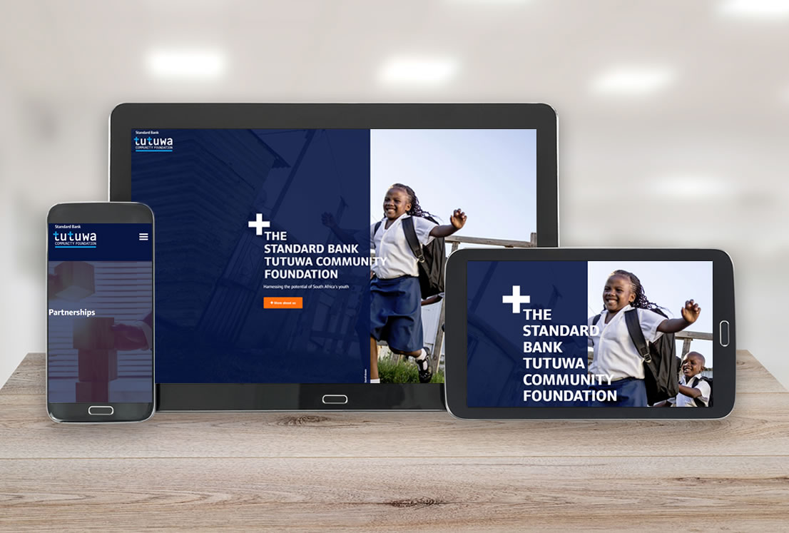 Standard Bank Tutuwa Foundation Developed by Smudge